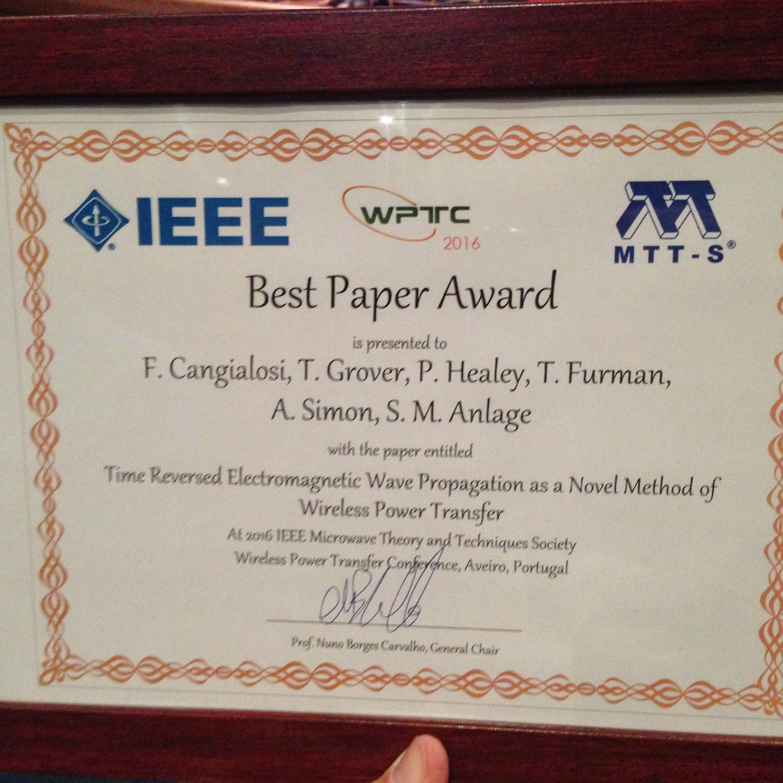 mrsi best thesis award